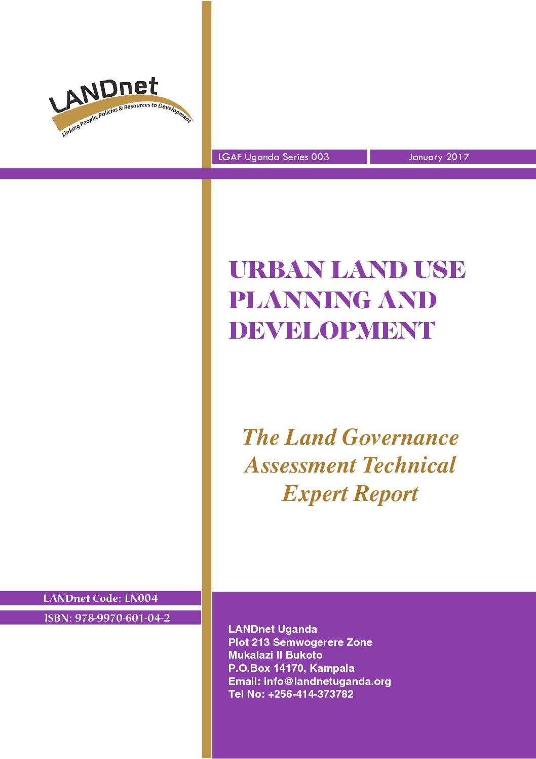 Urban Land Use Planning and Development