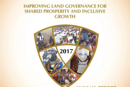 Annual Report 2017 - Improving Land Governance For Shared Prosperity And Inclusive Growth