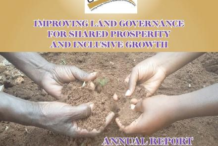 Annual Report 2016 - Improving Land Governance For Shared Prosperity And Inclusive Growth