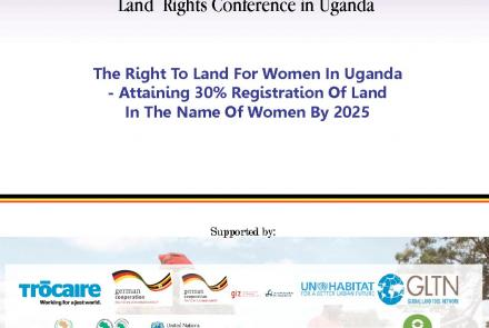 The Report of the 2nd National women's Land Rights Conference in Uganda